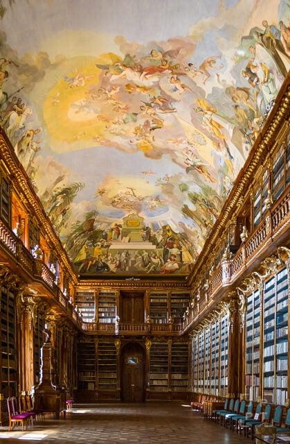 Philosophical Hall, Strahov Library