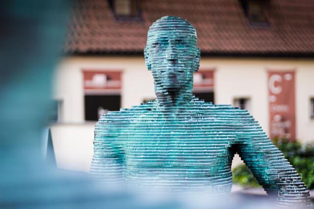 The Piss sculpture by David Černý