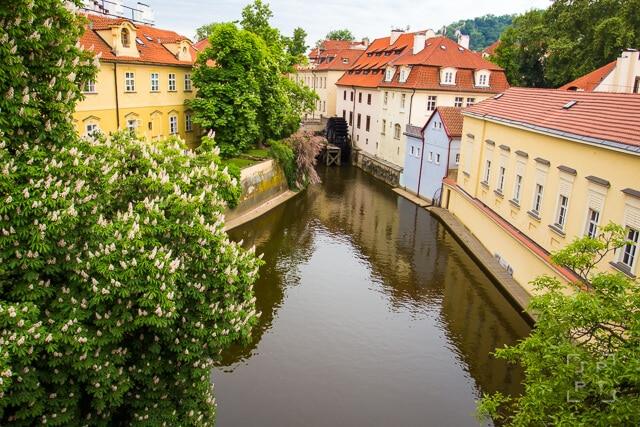 Kampa island in Prague