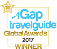 iGap travel guide global awards 2017 winner badge