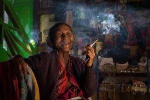 Shan woman, Myanmar