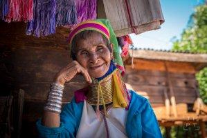 Kayan woman, Myanmar